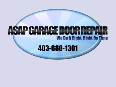 Garage Door Repairs Installs Openers Calgary In Calgary