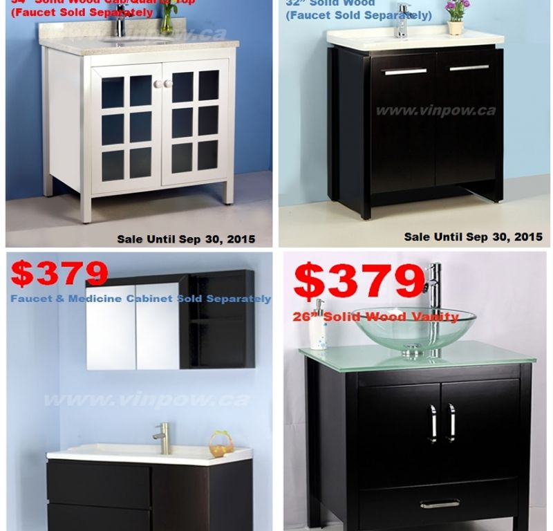 Winnipeg Bathroom Vanities: Bathroom Vanities, Showers, Faucets, Bathtubs, Toilets