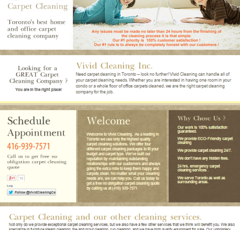 Toronto Carpet Cleaning Services Affordable Prices In