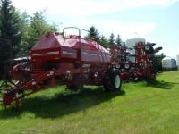 Air Drill / Seeders 2012 Morris 8370 XL TBT Air Cart, 2009 Morris 61' Contour