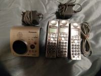 Electronics Panasonic Cordless Phone set with answering machine