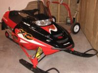 Snowmobiles 2003 Polaris 600 xc-sp