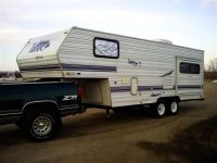 5th Wheel 2001 Thor Tahoe Glide Lite 5th wheel camper