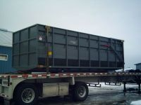 Grain / Flat Deck Truck Horstline's  Custom Truck Boxes