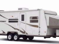 Travel Trailers 2008 Hybrid Rockwood Roo 19 by Forest River.