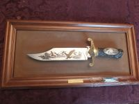 Guns & Hunting Supplies THE AMERICAN EAGLE BOWIE KNIFE BY RONALD VAN RUYCKEVELT