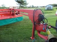 Mower Conditioner discbine kverneland