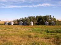Grain Bins 7 WEST STEEL GRAIN BINS FOR SALE!!!!!!!!!