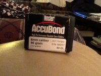 Guns & Hunting Supplies Nosler Accubond bullets