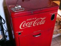 Antiques 1950's Coke Machine
