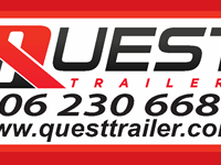 Trailers Quest Trailer   (6) 2005 Lode King 53' Tridem Flat Decks