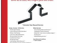 General Services Seasonal Contracting & Home/Property Maintenance & Much More