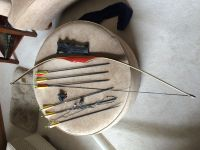 Guns & Hunting Supplies Traditional long bow everything included