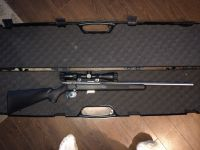 Guns & Hunting Supplies savage arms 17hmr with scope and case