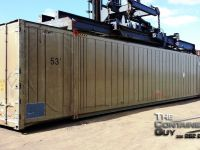 General Equipment 53' Stainless Steel Container