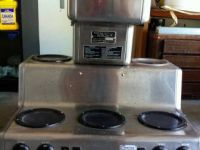 General Equipment Bunn RL commercial coffee maker with 5 lower warmers