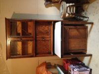 Furniture Antique 3pc Cupboard
