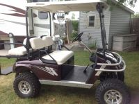 ATVs 1996 EZGO TXT Lifted Golf Cart