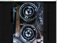 Parts and Accessories Rims pour Ford Focus 2013 de 15