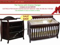 Furnishings and Decorations Christmas Wish List BABY FURNITURE SALE! Convertible Baby Cr