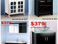 Furniture Bathroom Vanities, Showers, Faucets, Bathtubs, Toilets SALE