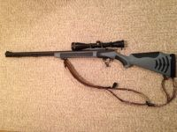 Guns & Hunting Supplies New TC Bone Collector 50 Cal Muzzleloader w/ Leupold Scope
