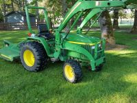 Tractors 2005 John Deere 790 Diesel Tractor With Front End Loader and