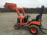 Tractors 2005 Kubota BX2200 4x4 Tractor W/ Front End Loader