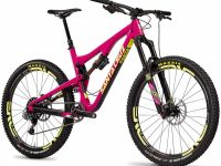 Bikes Santa Cruz Bronson Carbon C S AM 650b Mountain Bike 2016
