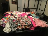 Clothing Baby girl clothing  size 3-6 months and bassinet 35 for all