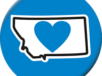 Miscellaneous Items Buy Montana State-Shaped Love Stickers Online - HeartSticker