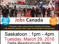 Administrative Jobs Saskatoon Job Fair - 29th March