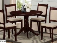 Furniture SOLID WOOD 5PCS DINNING SET WITH 42