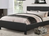 Furniture LIMITED TIME! COMPLETE LEATHER BED WITH MATTRESS & FREE DELI