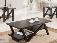 Furniture BRAND NEW SOLID WOOD 3PCS COFFEE TABLE SET FREE DELIVERY