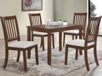 Furniture SOLID WOOD ELEGANT 5PCS DINNING SET BRAND NEW FREE DELIVERY