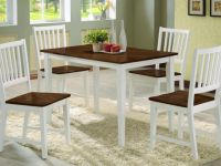 Furniture BEAUTIFUL SOLID WOOD 5 PCS DINNING SET (FREE DELIVERY IN GTA