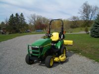 Lawn & Garden Equipment 2010 JOHN DEERE 2305 TRACTOR AND TRAILER