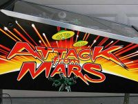 Electronics Attack from Mars Pinball