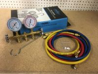 General Equipment Thermal Brass Manifold Gauge 1440-60C