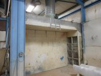 General Equipment Industrial Spray Booth/Wall