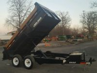 Highway Trailers 2012 Brimar DT612LP-10 Dump Trailer