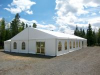 Industrial Rental Equip. Event Tents Wedding Tents Party Tents Warehouse Storage YVR