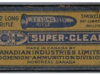 Guns & Hunting Supplies Canadian Industries Dominion Ammunition - Rare 1945 Box