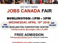 Administrative Jobs Burlington Job Fair - April 18th, 2018