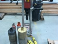 General Equipment Hilti Coring drill