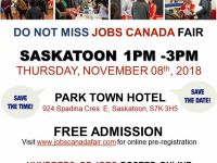 Business Opportunities SASKATOON JOB FAIR: NOVEMBER 8TH, 2018