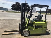 General Equipment Clark 3 wheel forklifts available in outstanding condition.