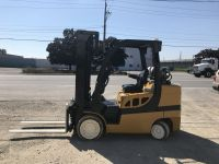 General Equipment YALE GLC 8000 lb Cap Propane Forklift with 4 way valve.