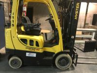 General Equipment Hyster Quad mast forklift in outstanding condition.